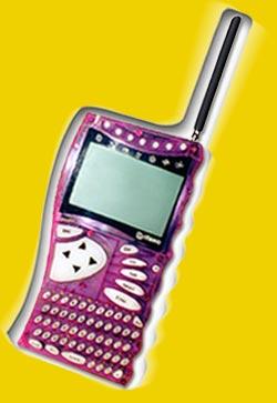 Purple Cybiko PDA
